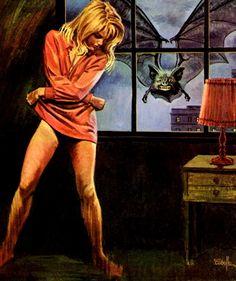 The Golden Age of Retro Living, Comics and Sexy Sci-Fi Retro Horror, Sci Fi Horror, Horror Comics, Arte Horror, Vintage Horror, Sexy Horror, Gothic Horror, Pulp Fiction Art, Pulp Art