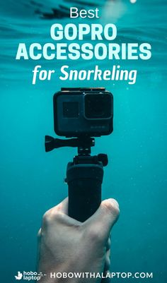 """This Is Our GoPro Accessories Kit For Traveling - After a lot of research, planning and """"I wish I had a GoPro right now"""" moments, we bought a Hero 5 and 6 along with a bunch of the best GoPro Hero 6 accessories for traveling we could find. Here's what's in our GoPro accessories kit."""