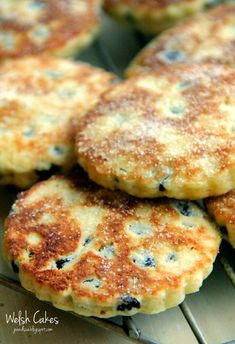 Welsh Cakes - traditional little crispy and fluffy bites of heaven!