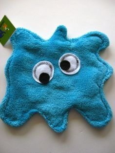 Splat, is the newest edition to the monster family. You can use splat as a wipee, a washcloth, a lovey, a friend! Splat is made from polyester minky The Monster Family, Sewing Projects, Sewing Ideas, Love Craft, Sewing For Kids, Burp Cloths, Baby Quilts, Making Out, Baby Shower