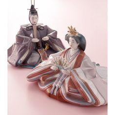 リヤドロ 雛人形           Hina Dolls by Lladró