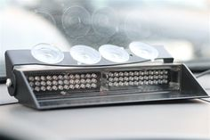 The LED dash light packs a punch and keeps you safe during any emergency. Use it in your police car, fire truck, ambulance, construction vehicle or plow truck. Police Lights, Emergency Lighting, Led Light Bars, Emergency Vehicles, Packing Light, Police Cars, Bar Lighting, Fire Trucks, Ems