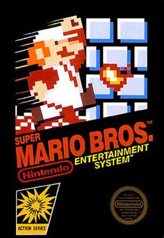 Super Mario Bros.  (First video game I ever owned!)