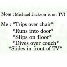 So true :)). Because of Michael, sometimes I feel like I have superpower or I am a ninja (〜 ̄▽ ̄) 〜