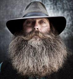 Beards. Men. Going Grey. Photography.