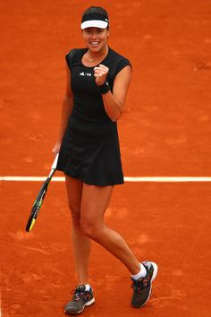 Ana Ivanovic Photos: 2015 French Open - Day Eight