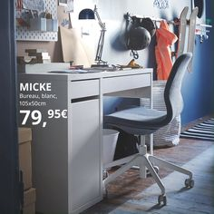 Ikea Malm, Ikea Micke, Micke Desk, Family Games Online, Pc Gaming Setup, Teen Bedroom Designs, White Desks, Drawer Unit, Home Office