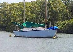 """""""Makai"""" is a 1934 38ft Ketch being restored by Paul in Ballina, NSW Australia"""