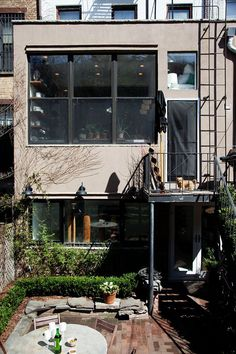 Lyndsay and Fitzhugh at Home in Brooklyn
