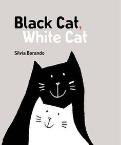 Day and night, black and white ... this playful, stylish exploration of opposites is the story of two cats as different as different can be.