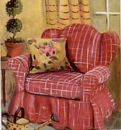 Mary Kay Crowley Designs-The Red Chair