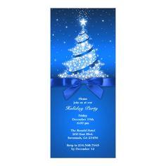 Holiday Party Celebration Flat Invitation