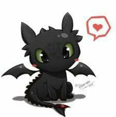 Time : a few hours I already watch How To Train Your Dragon 1 and 2 and toothless is very very cutee XD so i decided to make its fan art hope . Toothless Chibi - How To Train Your Dragon Chibi, Arte Disney, Disney Art, How To Train Your, How Train Your Dragon, Toothless And Stitch, Toothless Drawing, Baby Toothless, Dragon Trainer