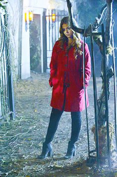 Red Coat | Pretty little liars | Pinterest | Red coats, Coats and Red