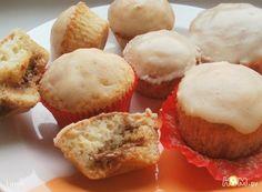 Кексы из творожного теста с вареной сгущенкой в виде начинки