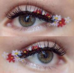 Delineado de flores: La tendencia de maquillaje de primavera [FOTOS] | Ellahoy