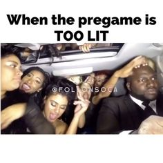 If you arent this LIT on the way to a fete you did something wrong  Now playing: Shackle out by Porgie & Murda (remix by DJ KY and Dynasty) Tag someone whos behavior is like this... nonexistent (((Turn post notifications on))) #FollowSoca to #Wotless #Fridays