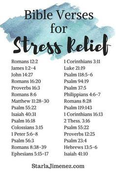 Bible Verses on Stress