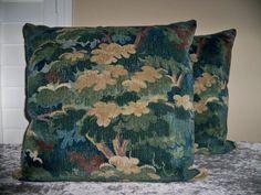 DONGHIA Floral LEAF POND Linen Cut Velvet