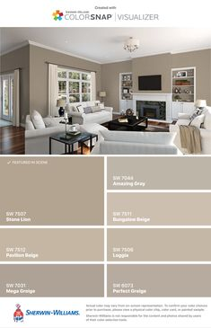 indoor paint colors Fancy Bedroom Paint Color Indoors and Familyroomdesign Bedroom Paint Colors, Paint Colors For Living Room, Paint Colors For Home, Room Colors, House Colors, Colours, Fancy Bedroom, Indoor Paint, Farmhouse Paint Colors