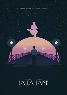 Poster Alternativo de la alabada #LALALAND (2016)