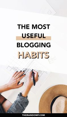 What are the best blogging habits to have starting with your first blog post? How to make blog management easier and always stay on top of all your to-do list? #blogginghabits #bloggingtips #contentmanagement #content #blogginghacks