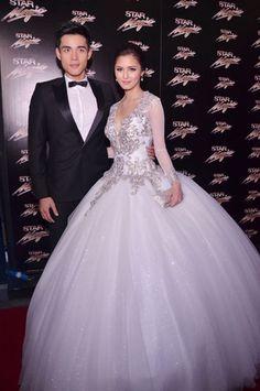 Kim Chiu and Xian Lim at the Star Magic Ball
