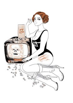21st Century Pin-ups by Little Thunder
