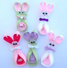 Easter Bunny Ribbon Sculp... - April's Imagination   Scott's Marketplace