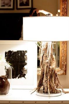 Sweet Something Designs: At Home Thursday: DIY Driftwood Lamp