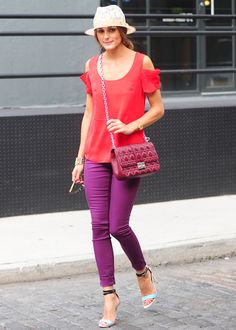LOULOU Shopping - Olivia Palermo's colour play - Inspiration
