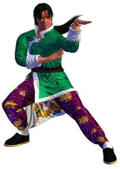 Lei Wulong... my favorite character in Tekken 3. Wasted hours and hours of my later childhood to learn his moves.  Btw: what was/is your favorite in Tekken 3?