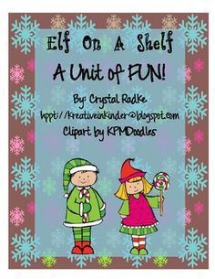 Dear Educator,This packet correlates nicely with the book, Elf on a Shelf. It is a must read and so much fun for kids! I love the DVD too. :)In...