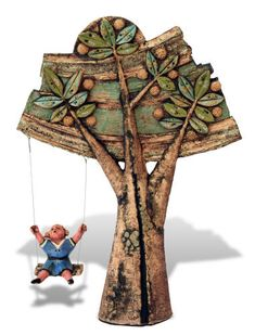 Senza nome 1 Sculpture Art, Sculptures, Totems, Ceramic Plates, Paper Mache, Polymer Clay, Outdoor Blanket, Shapes, Wall Art