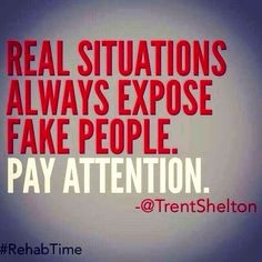 REAL situations - FAKE people