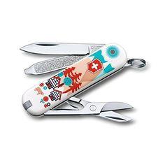 Victorinox Classic Swiss Army Pocket Knife, Swiss Village, SMALL