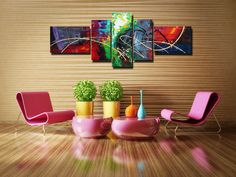 A Matching Painting Adds an Impression to your Rooms