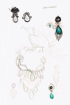 Cormorant Sketch