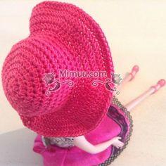 Amigurumi Bebekler İçin Şapka Yapılışı 4