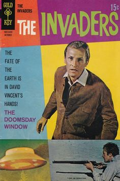 The Invaders #4  Gold Key Comics  Last issue  Original stories by Dan Spiegle based on the TV series. This issue even had another important character from the show, Edgar Scoville!