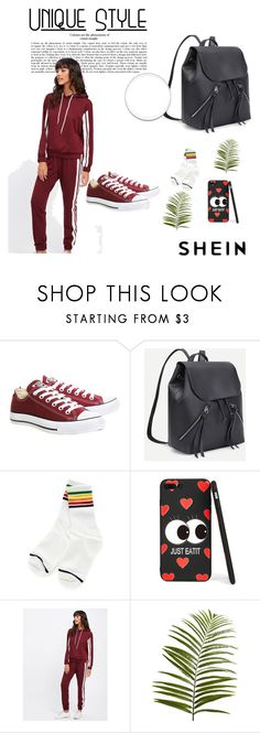 """""""Shein 37"""" by zerina913 ❤ liked on Polyvore featuring Converse, Pier 1 Imports and shein"""