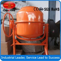 chinacoal03 CM2A Portable high output concrete mixer  Portable high output concrete mixer,output concrete mixer,CM2A concrete mixer Product Introduction 1.Portable Concrete Mixer (cement mixer) is a device that combines cement, aggregate such as sand or gravel, and water to form concrete. A typical concrete mixer uses a revolving drum to mix the components.