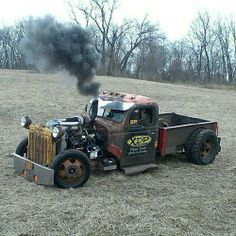 rat rod trucks and cars Rat Rod Trucks, Rat Rods, Rat Rod Pickup, Rat Rod Cars, Cool Trucks, Big Trucks, Cool Cars, Pickup Trucks, Dually Trucks