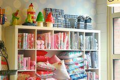 Kinderwinkel Tante Teuntje, Dongen, Netherlands. Kids shop, store display.