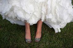 Real Wedding: Corey & Matthew - Photo Credit: Sara Heidinger #Photography - the Shoes