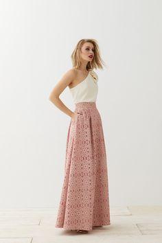 9 mejores imágenes de faldas largas boda f467f385c152
