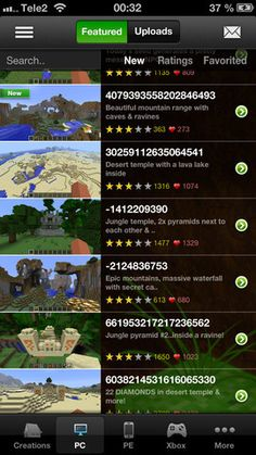 Minecraft Seeds Pro v 2.3.1 (iPhone / iPod Touch / iPad) (Application)