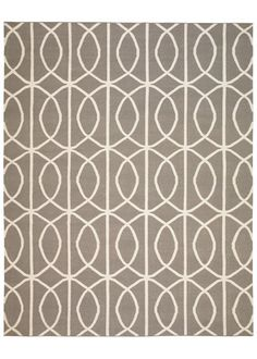 DwellStudio Home Wool Rug Gate Ash Cream DWS553-I think I need this rug