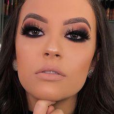 Maquiagem para Casamento de Dia 2018 Glam Makeup Look, Cute Makeup, Makeup Looks, Perfect Makeup, Makeup Tips, Beauty Makeup, Hair Makeup, Makeup Ideas, Smokey Eye Makeup