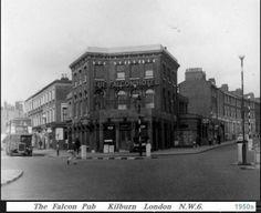 Falcon Pub Kilburn N.W.6 London Pubs, Old London, Local History, Family History, Maida Vale, British Family, London Photos, Queens, Past